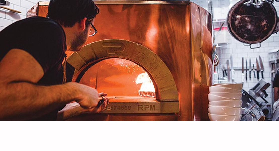 Pavesi pizza oven RPM 120 wood Restaurant EMILY Brooklyn - NY