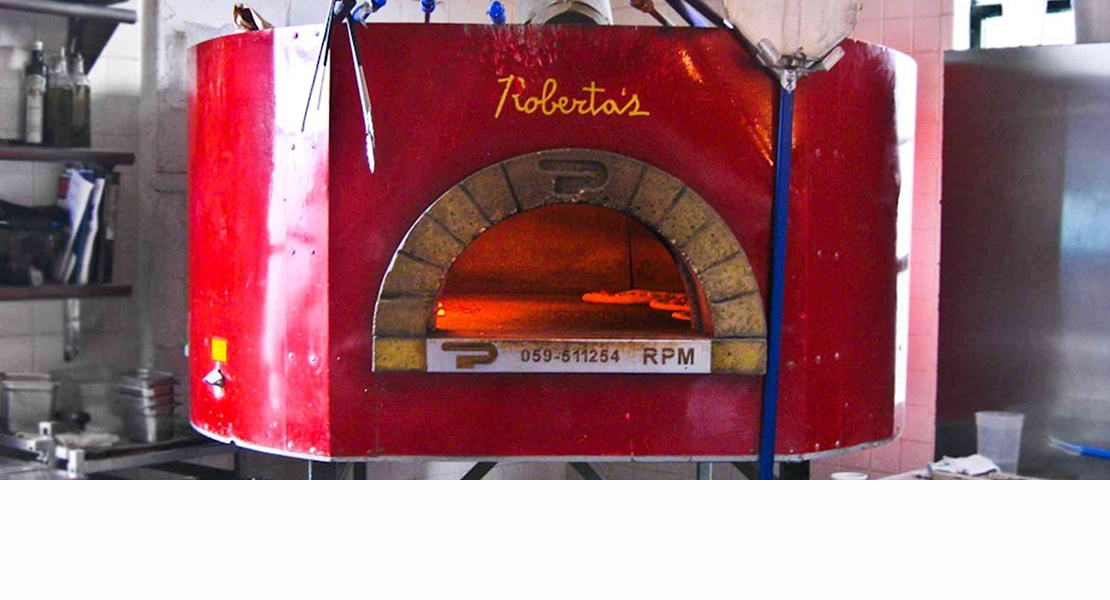 Pavesi pizza oven RPM 120 wood Restaurant Roberta's NY